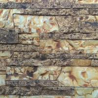 Piatra decorativa, interior / exterior, Basel 02, crem cu segmente maro (cutie = 0.5 mp)