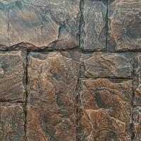 Piatra decorativa, interior / exterior, Leon 03, gri inchis si negru (cutie = 1 mp)