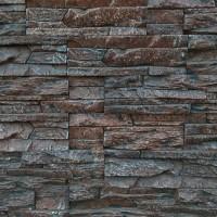 Piatra decorativa, interior / exterior, Montana 05, maroniu (cutie = 0.6 mp)