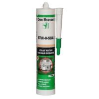 Izolant rosturi pentru tencuiala decorativa Den Braven Stuc - o - seal, alb, interior / exterior, 280 ml