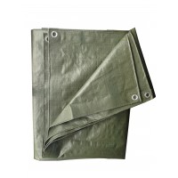 Prelata impermeabila Versay, polietilena, verde, 70 g/mp, 3 x 4 m