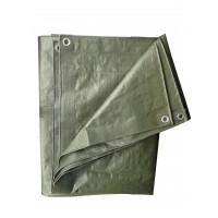 Prelata impermeabila Versay, polietilena, verde, 100 g/mp, 4 x 6 m
