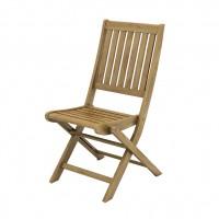 Scaun pentru gradina, pliant, TDC-1063, lemn, natur