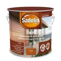 Impregnant pentru lemn Sadolin Tinova, mahon, pe baza de apa, exterior, 2.5 L