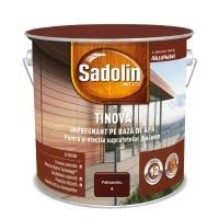 Impregnant pentru lemn Sadolin Tinova, palisandru, pe baza de apa, exterior, 2.5 L