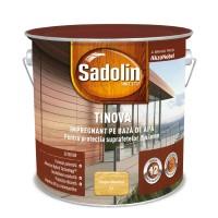 Impregnant pentru lemn Sadolin Tinova, stejar deschis, pe baza de apa, exterior, 2.5 L