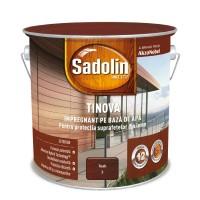 Impregnant pentru lemn Sadolin Tinova, tec, pe baza de apa, exterior, 2.5 L