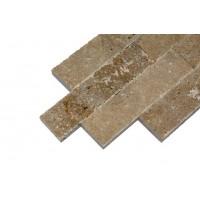 Piatra naturala decorativa travertin Noce, interior / exterior, 7,5 x 2 cm