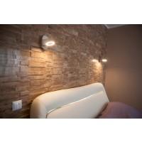 Mozaic travertin Latte Wall polisata, interior / exterior, 29,5 x 30 cm
