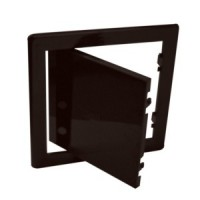 Usita vizitare, pentru instalatiile sanitare, Bellplast, maro, 15 x 20 cm