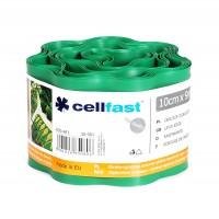 Separator gazon Cell Fast, plastic, verde deschis, 10 cm x 9 m