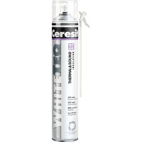 Spuma poliuretanica pentru montaj, cu aplicare manuala, Ceresit White Teq Thermal & Sound, 750 ml