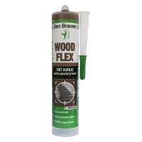 Chit acrilic pentru parchet si lemn, Den Braven Woodflex, mahon, 280 ml