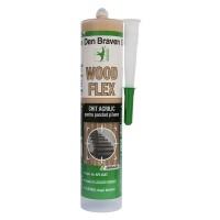 Chit acrilic pentru parchet si lemn, Den Braven Woodflex, pin, 280 ml