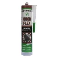 Chit acrilic pentru parchet si lemn, Den Braven Woodflex, wenge, 280 ml