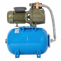 "Hidrofor Wassertechnik WT25/25H, cu pompa autoamorsanta din fonta + rezervor 24 L + presostat + manometru + furtun flexibil + racord 5 cai + ejector 4 "",  750 W"