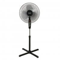 Ventilator cu picior Zass ZF 1604, 45 W, 3 viteze, diametru 41 cm, negru