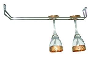 Suport bucatarie, pentru pahare, 4040, cu agatatoare, 46 x 11 x 6 cm