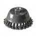 Perie cupa, pentru lustruire si decapare, pentru lemn / fier, Lumytools LT06975, diametru 75 mm