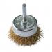 Perie cupa, cu tija, pentru decapare lemn / fier, Lumytools LT06988, diametru 75 mm