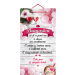 Tablou ES9522, mesaj Valentine s Day, 48 x 26 cm