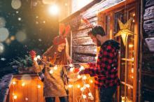 Cum ne iluminam casa in perioada sarbatorilor?