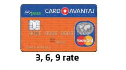 Rate CardAvantaj