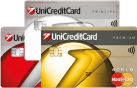 Card in rate fara dobanda UniCredit