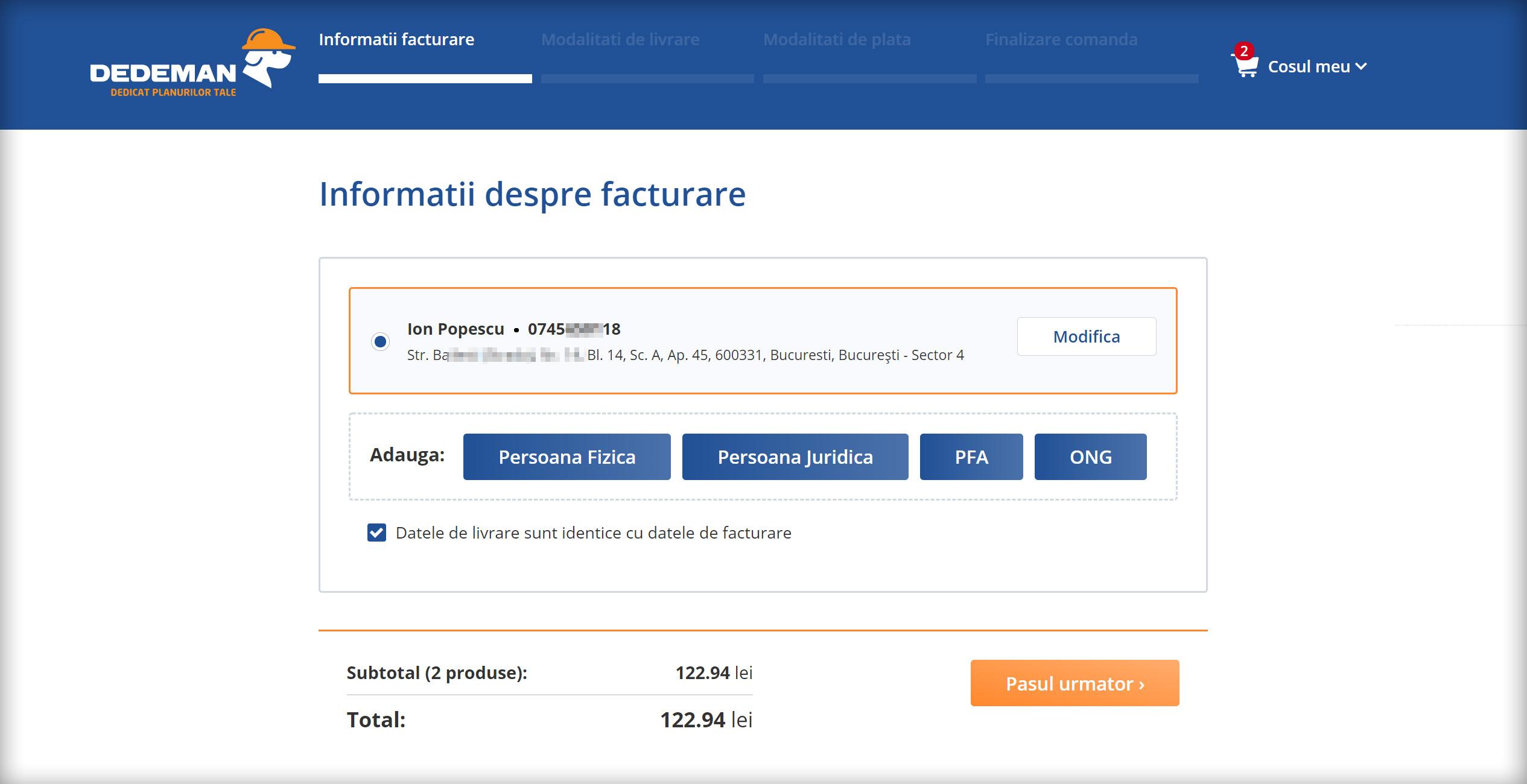 Opțiuni de livrare | GLS Romania